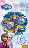Décoration muffin Frozen Decocino