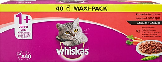 Nourriture pour chats Sélection Classique Whiskas