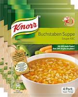Knorr Buchstaben-Suppe
