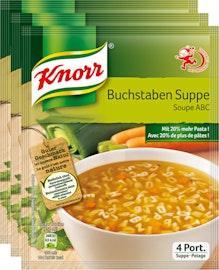 Knorr Buchstabensuppe