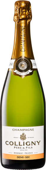 Colligny demi-sec Champagne AOC Vorderseite