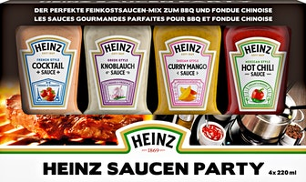 Heinz Party-Saucen