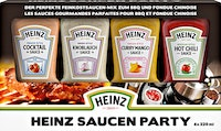 Salse per Party Heinz