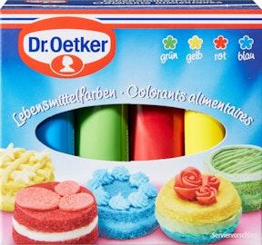 Dr. Oetker 4 coloranti alimentari