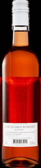 Rosé de Gamay Romand Vin de Pays Zurück