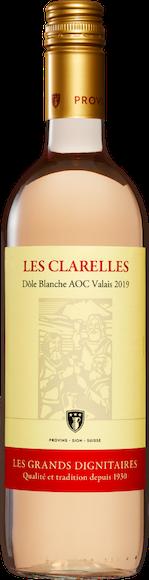 Les Clarelles Dôle Blanche AOC Valais Vorderseite