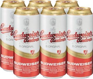 Birra lager Original Budweiser