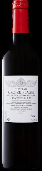 Château Croizet-Bages 5e Grand Cru Classé Pauillac AOC Zurück
