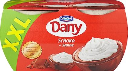 Budino alla panna Dany Danone